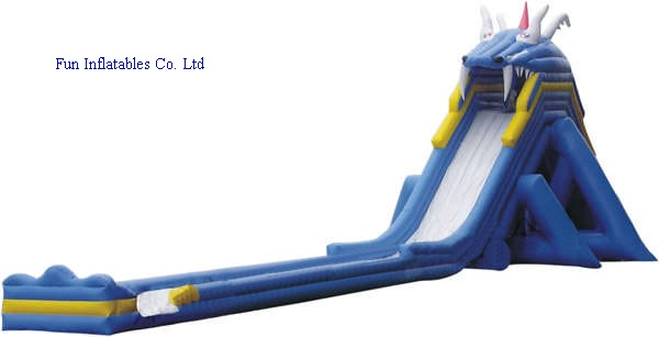 inflatable huge water slide