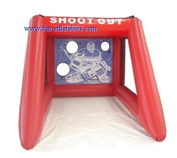 inflatable football goal
