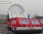 inflatable car slide