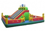 Inflatable funcity castle