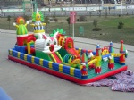 Inflatable sunbaby castle