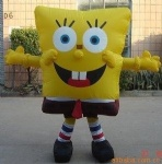 inflatable SpongeBob cartoon