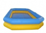 double layers inflatable pool