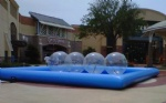 water balls inflatable pool